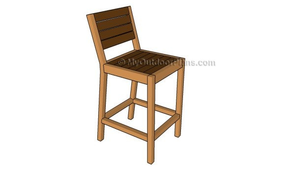How To Build A Bar Stool Myoutdoorplans Free Woodworking Plans within how to build a bar stool for The house