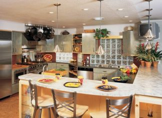 How To Choose The Right Bar Stool Height Improvements Blog Bar within Kitchen Counter Bar Stools