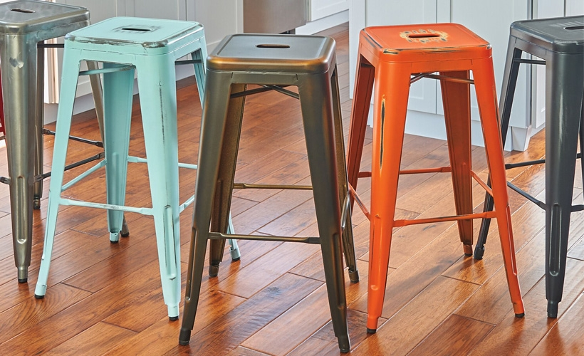 How To Choose The Right Bar Stool Height Improvements Blog in how tall are bar stools regarding Inviting