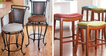 How To Choose The Right Bar Stool Height Improvements Blog throughout counter height bar stool for Property