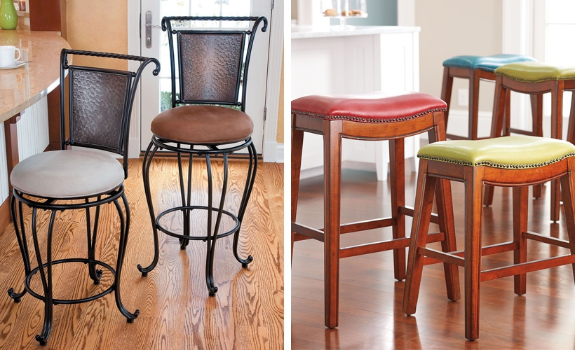 How To Choose The Right Bar Stool Height Improvements Blog throughout Used Bar Stools
