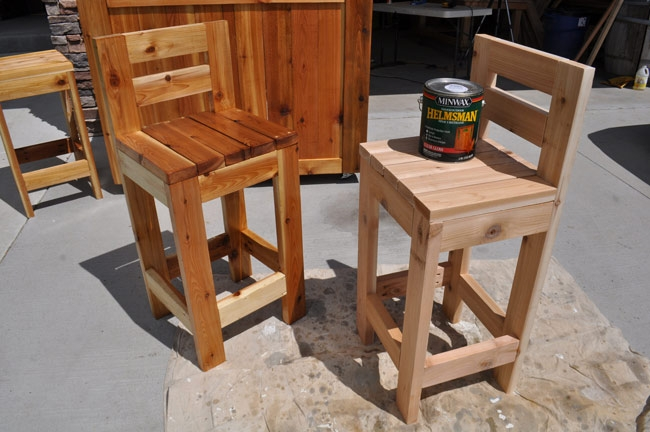 How To Make Bar Stools for How To Build A Bar Stool