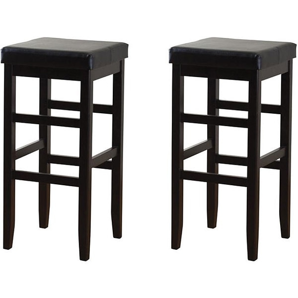 Hutto 30 Inch Square Bar Stools Set Of 2 12754077 Overstock within The Most Stylish and also Lovely square bar stools regarding Provide House