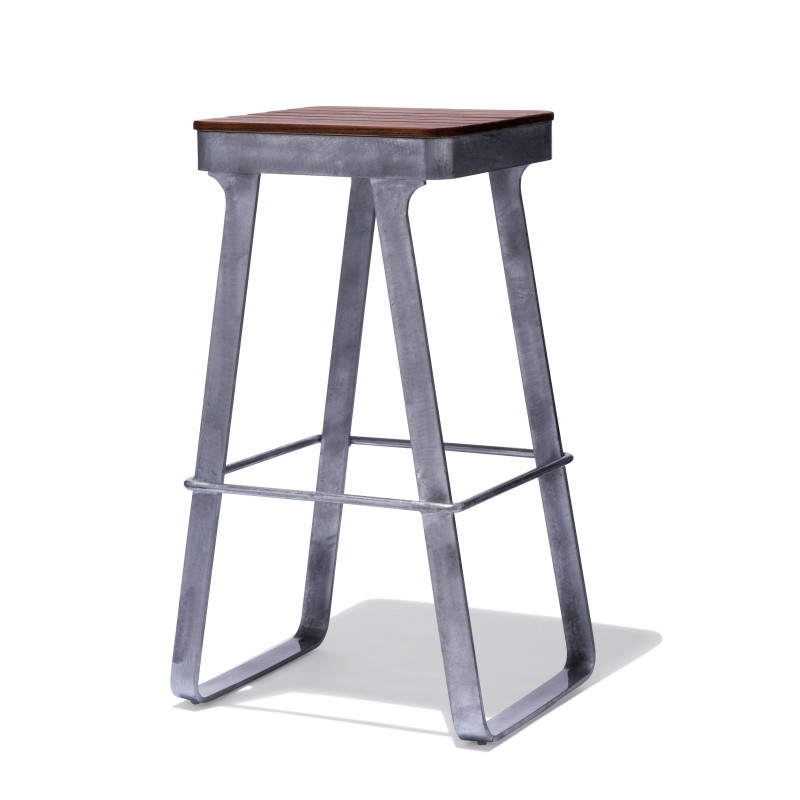 Industrial Mid Century And Modern Bar And Counter Stools For Home for Galvanized Bar Stools
