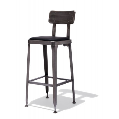 Industrial Mid Century And Modern Bar And Counter Stools For Home within mid century modern bar stool regarding Home