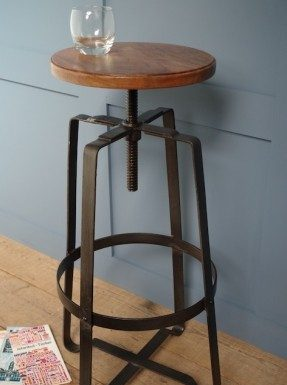 Industrial Swivel Bar Stools Foter pertaining to Industrial Swivel Bar Stool