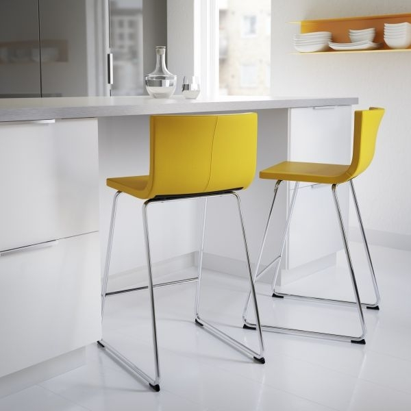 Ingolf Bar Stool With Backrest 24 34 Home Decor Pinterest in Stylish  breakfast bar stools ikea intended for Your house
