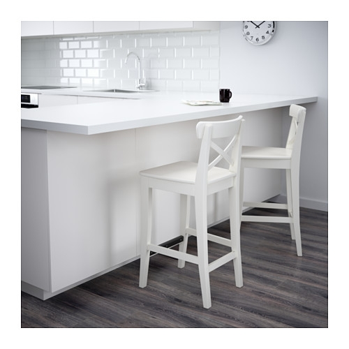 Ingolf Bar Stool With Backrest 29 18 Quot Ikea within ikea ingolf bar stool intended for Your home