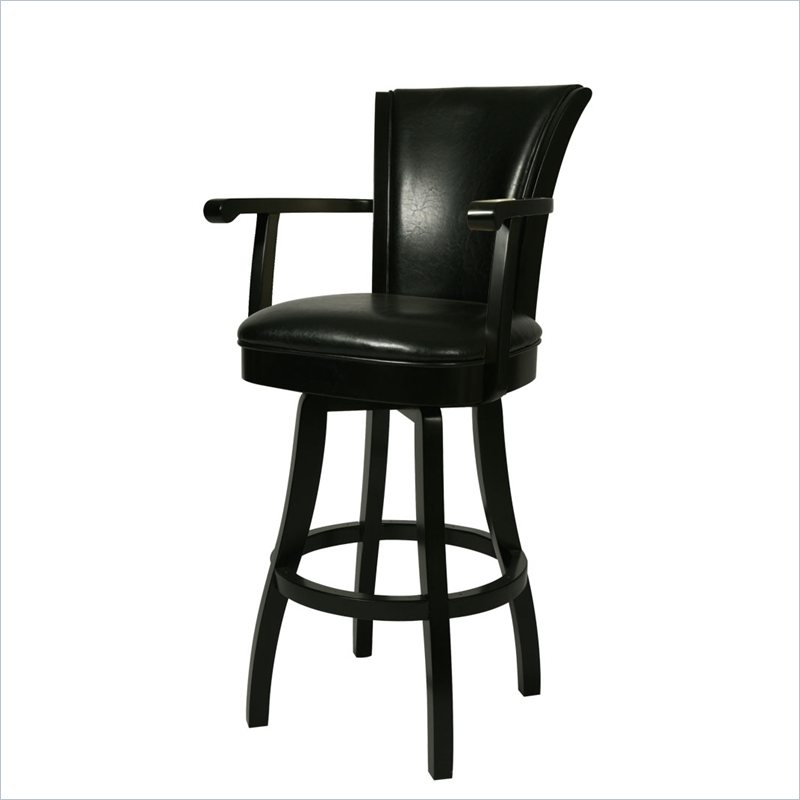 Leather Swivel Bar Stools Foter throughout Leather Swivel Bar Stools With Arms
