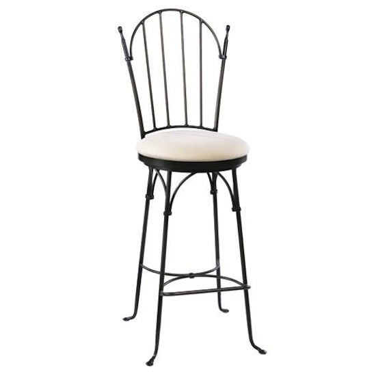 Iron Barstools And Counterstools For Holiday Entertaining pertaining to Wrought Iron Bar Stools