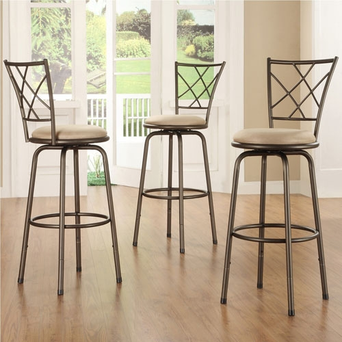 Iron Swivel Bar Stool Bellacor pertaining to Cast Iron Bar Stools