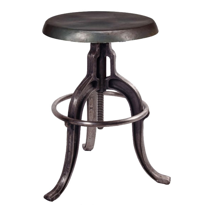 Iron Swivel Bar Stool with regard to Iron Swivel Bar Stools