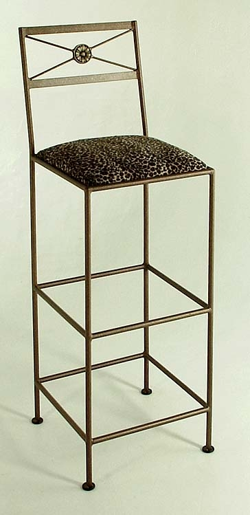 Iron Tall Modern Bar Stools Extra High 36 Inch Stools regarding Tall Bar Stools