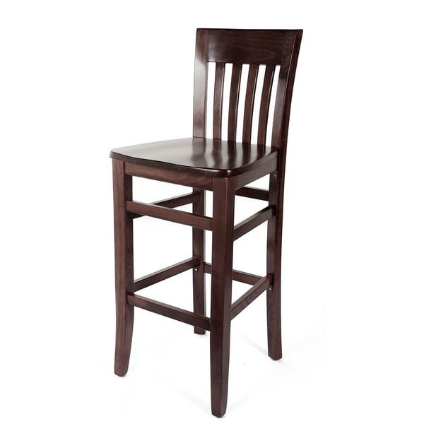 Jacob 43 Inch Beechwood Barstool 13734637 Overstock with regard to Beechwood Bar Stools