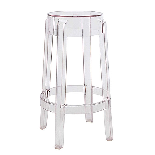 Kartell Charles Ghost Bar Stool Philippe Starck throughout The Most Amazing  ghost bar stools pertaining to Warm