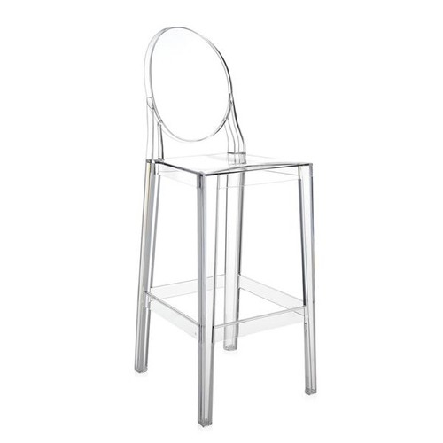 Kartell One More Bar Stool Yliving for The Most Amazing  ghost bar stools pertaining to Warm
