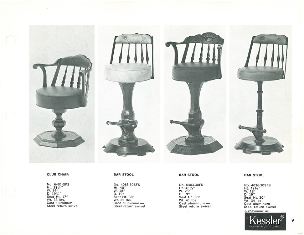 Kessler Industries History regarding Kessler Bar Stools