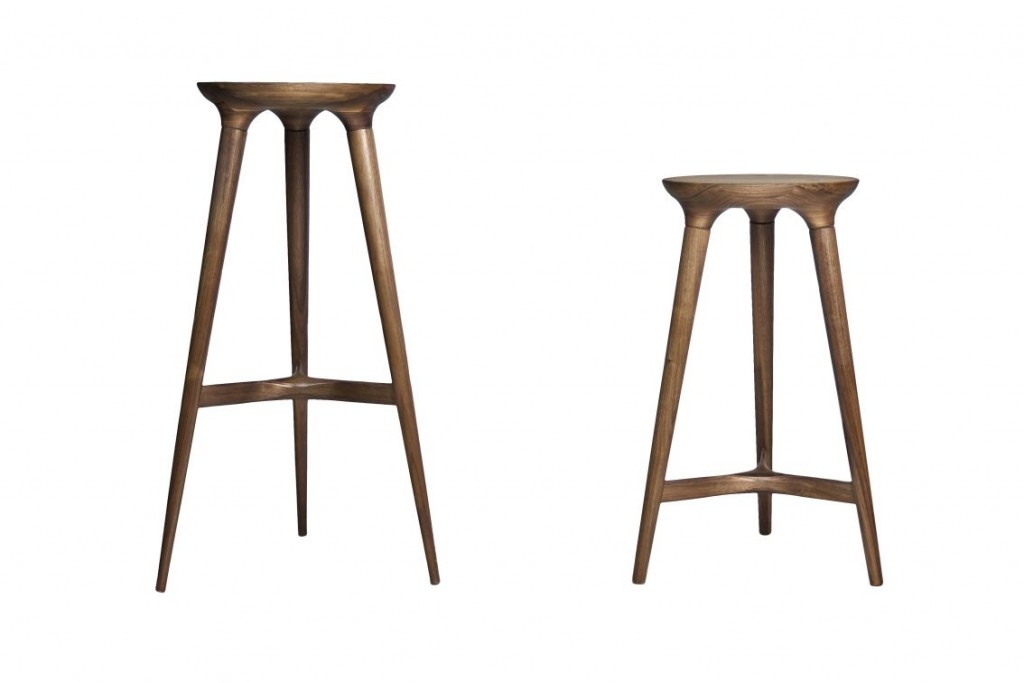 Kitchen 24 Modern And Elegant Kitchen Bar Stools To Inspire You pertaining to modern wood bar stools regarding Encourage