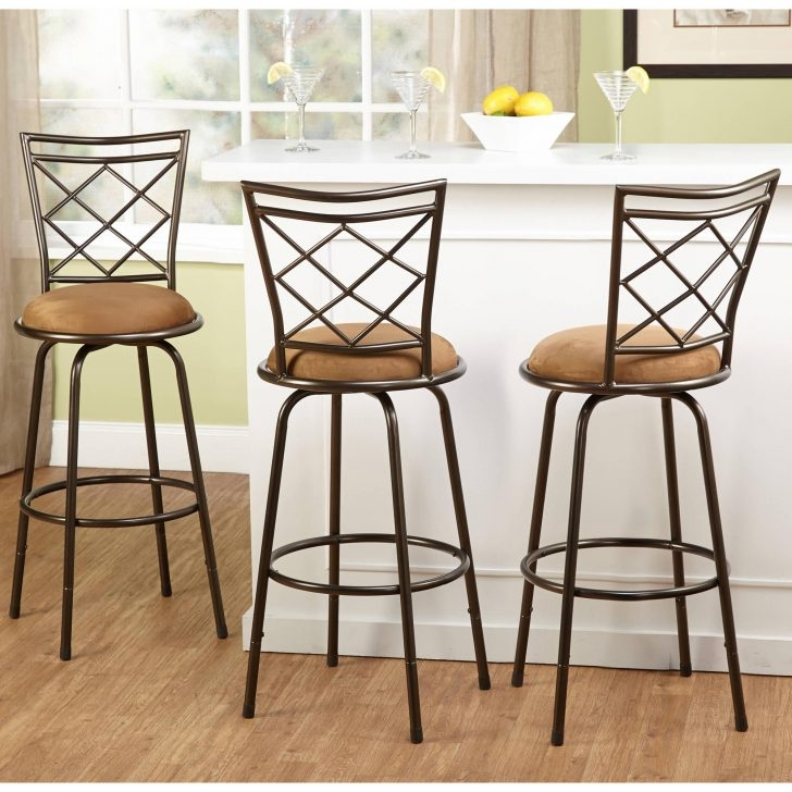 Kitchen Awesome Swivel Bar Stools No Back With Round Black within The Most Incredible  swivel bar stools no back regarding Motivate