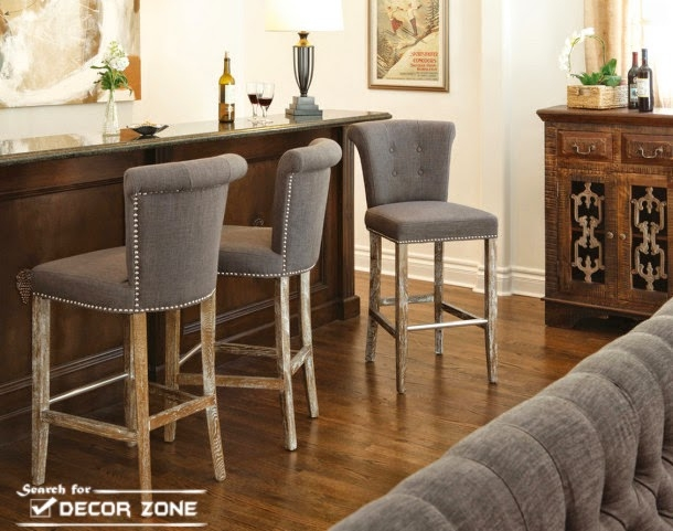 Kitchen Bar Stools How To Choose Materials And Designs Houseti pertaining to kitchen breakfast bar stools regarding Your home