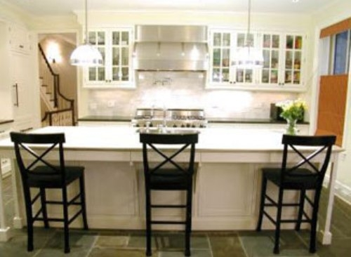 Kitchen Bar Stools Thearmchairs pertaining to Kitchen Bar Stools With Backs