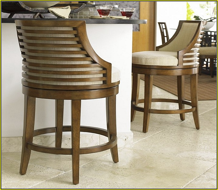 Kitchen Bar Stools With Backs And Arms Home Design Ideas intended for kitchen bar stools with backs for Household