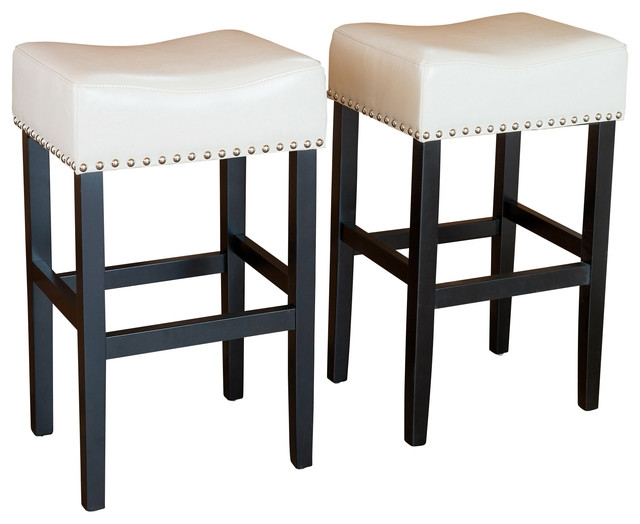 Kitchen Counter Stools With Backs 1 Leather Counter Height Bar within Counter High Bar Stools
