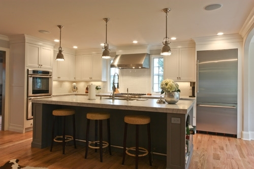 Kitchen Island With Bar Stools 3 Kitchen Ideas pertaining to island bar stools for Residence
