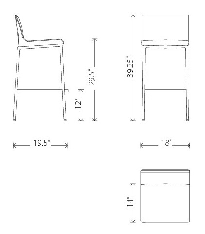 Kitchen Stools With Back 9 Bar Stool Dimensions Standard inside Bar Stool Dimensions