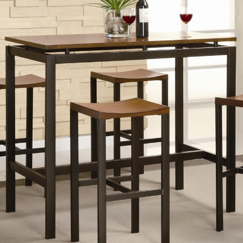 Kitchen Table With Bar Stools Kitchen Ideas regarding Bar Stools And Tables