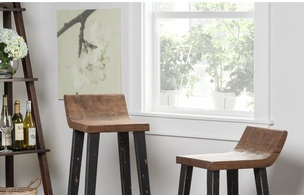Kosas Home Tam Low Back 30 Inch Bar Stool 15997773 Overstock regarding The Elegant and Gorgeous 30 inch bar stools with back intended for Your home