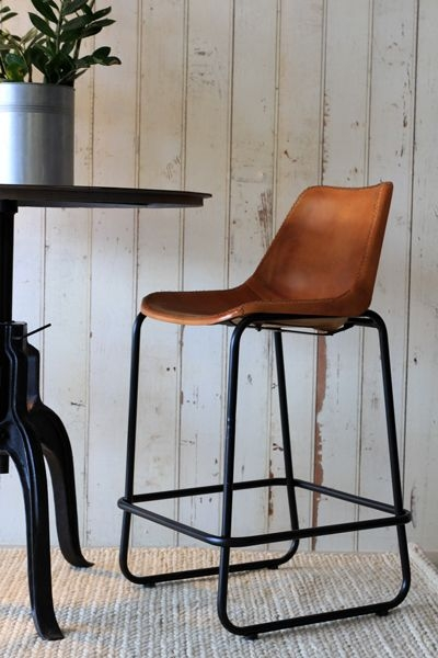 Leather Bar Stools Bar Stools And Stools On Pinterest pertaining to Leather Bar Stool