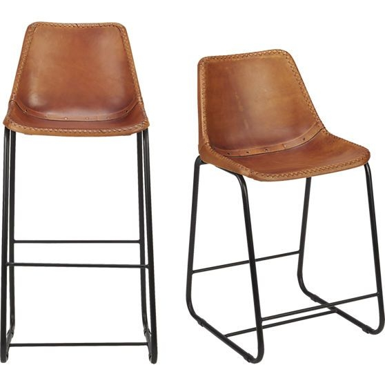 Leather Bar Stools Bar Stools And Stools On Pinterest regarding Awesome  leather bar stool regarding Residence
