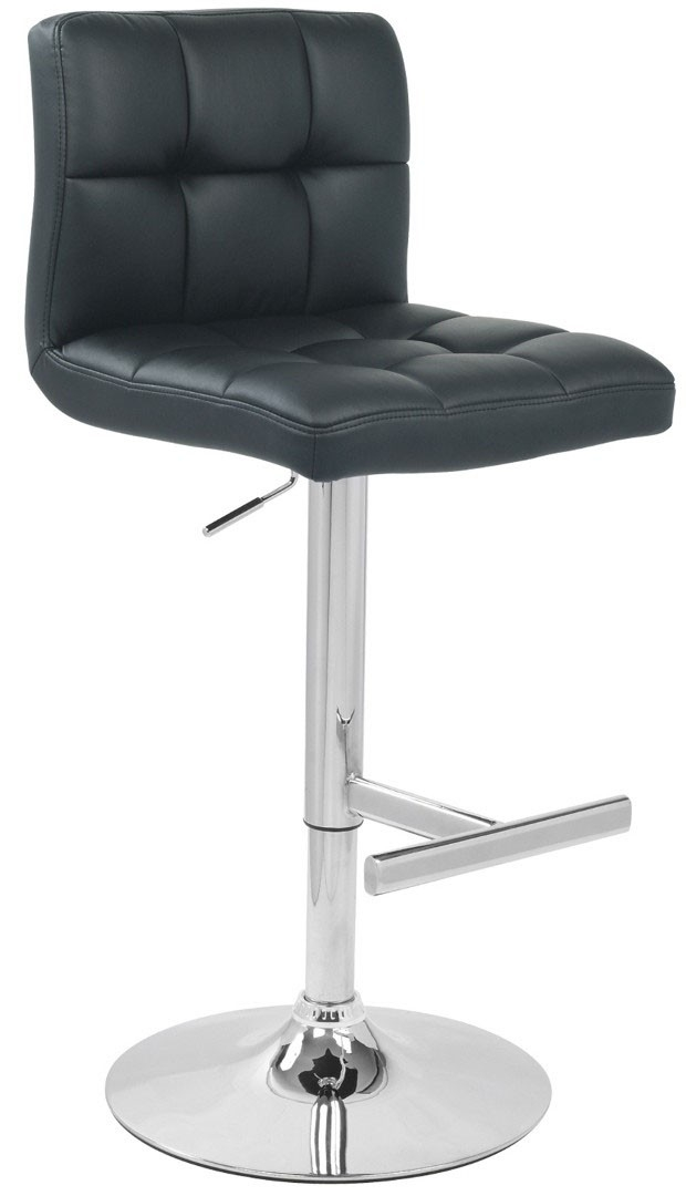 Leather Bar Stools Made From Superb Real Leather throughout Black Leather Bar Stools