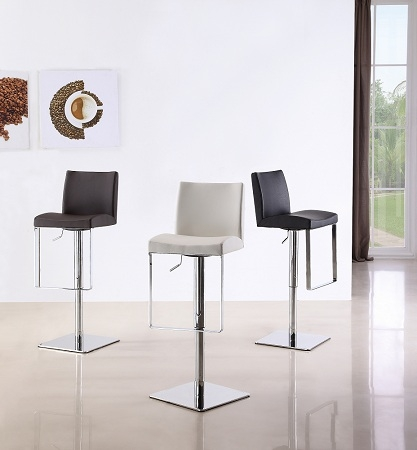 Leather Barstools Contemporary Barstool Modern Barstool New inside Modern Swivel Bar Stools