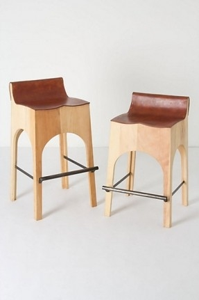 Leather Iron Bar Stools Foter with The Awesome  wood and leather bar stools pertaining to Property