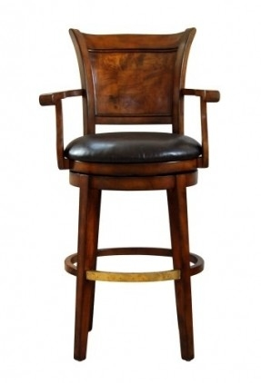 Leather Swivel Bar Stools Foter intended for Bar Stools With Arms And Swivel