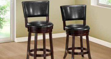 Leather Swivel Bar Stools With And Without Back Arms in leather bar stools with backs that swivel pertaining to Your home