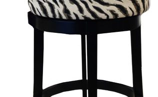 Legacy Commercial Swivel Barstool In Black Zebra Fabric With 26 intended for Brilliant in addition to Lovely zebra bar stools with regard to Current Household