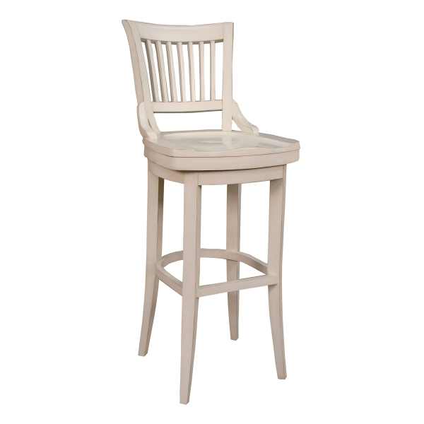 Liberty Antique White regarding Antique White Bar Stools