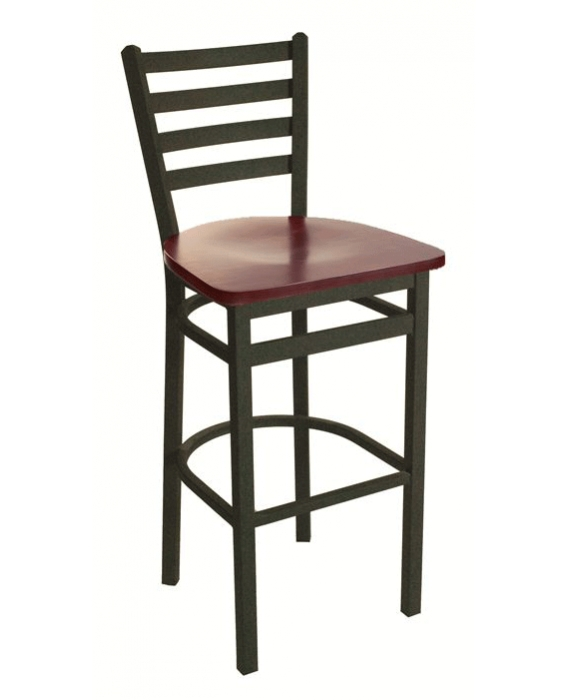 Lima Metal Ladder Back Restaurant Commercial Grade Bar Stools Bfm with commercial grade bar stools pertaining to  Household