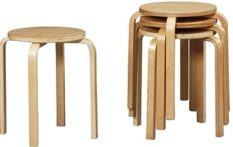 Linon 1771nat 04 As U Bentwood Short Stacking Counterbar Stool with regard to short bar stools pertaining to Your house
