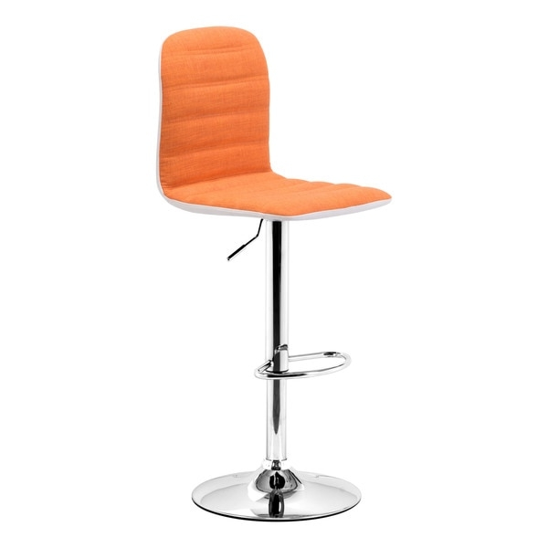 Logic Orange Bar Stool 15905314 Overstock Shopping Great intended for The Brilliant in addition to Beautiful orange bar stool with regard to House