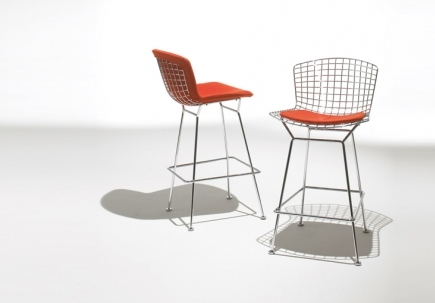 Luminaire Bertoia Bar Stool within bertoia bar stool for Household