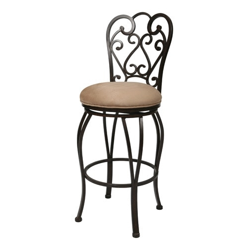 Magnolia39 26 Inch Swivel Bar Stool 13269493 Overstock throughout 26 Inch Swivel Bar Stools