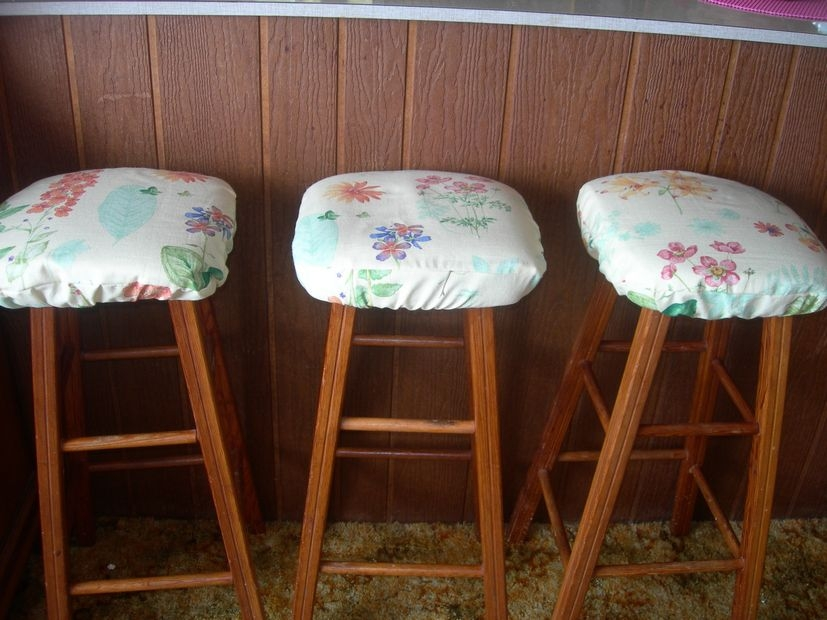 Making Bar Stool Cushions Cranberry Blossom with bar stool cushions for Encourage