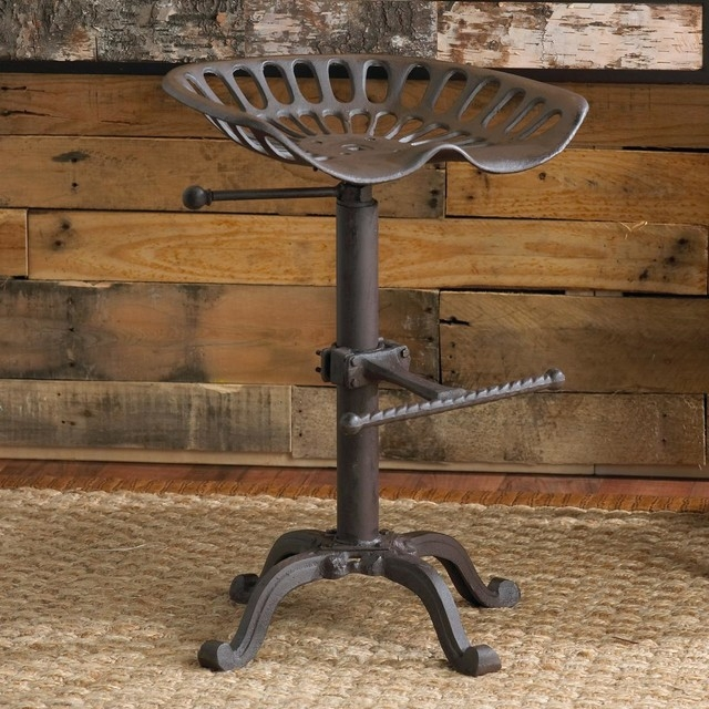Making Tractor Seat Bar Stools Modern Home Interiors for Tractor Seat Bar Stools