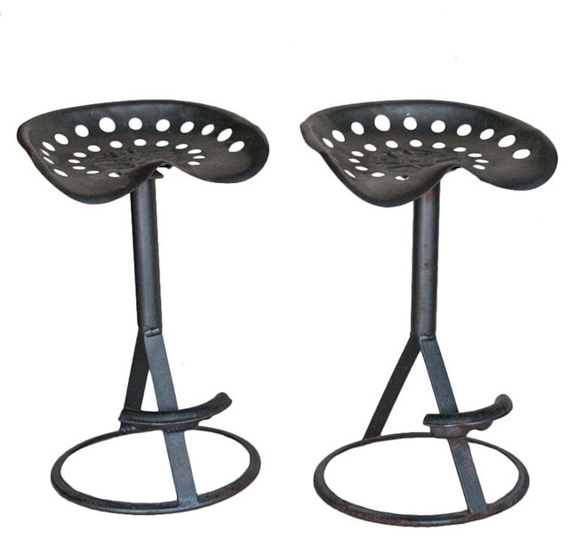 Making Tractor Seat Bar Stools Modern Home Interiors inside Tractor Bar Stool