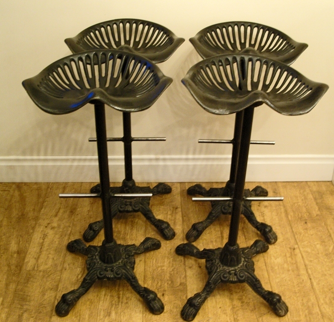 Making Tractor Seat Bar Stools Modern Home Interiors regarding Tractor Seat Bar Stool