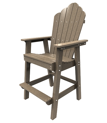 Malibu Outdoor Furniture Outdoor Dining Chairs pertaining to Adirondack Bar Stools